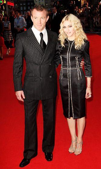 Guy Ritchie ja Madonna vuonna 2008.