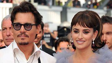 Penelope Cruz ja Johnny Depp