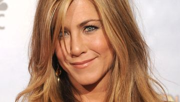 Jennifer Aniston Golden Globe -gaalassa 2010