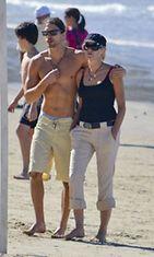 Sharon Stone ja Martin Mica