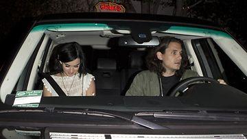 Onko tässä poptähden uusi poikaystävä? Katy Perry ja John Mayer ikuistettiin yhdessä elokuun 2. päivä 2012.