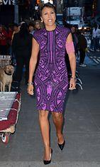 Yhdysvaltalainen uutistenlukija (GMA) Robin Roberts kesäkuussa 2012