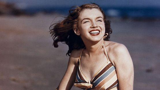 Marilyn Monroe 19-vuotiaana.