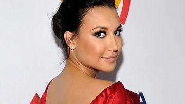 Naya Rivera näyttelee Glee-sarjassa.