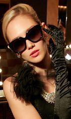Audrey Hepburn -malliset lasit.