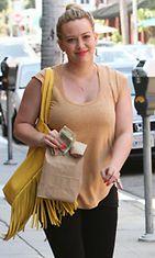 Hilary Duff 8. kesäkuuta 2012.
