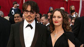 Johnny Depp ja Vanessa Paradis, 2008