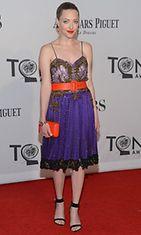 Amanda Seyfried teatteritaiteen Tony Awards -gaalassa kesäkuussa 2012.