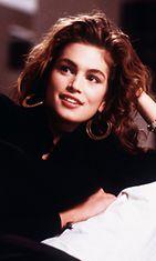 Cindy Crawford vuonna 1989.