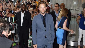 2012 elokuu: Robert Pattinson Cosmopolis-elokuvan ensi-illassa New Yorkissa.