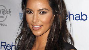 Kim Kardashian kesäkuussa 2012