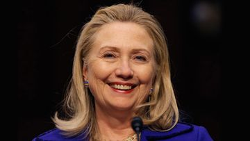 Hillary Clinton vuonna 2012.