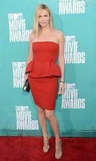 Näyttelijä Charlize Theron vuoden 2012 MTV Movie Awards -gaalassa.