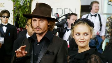 Johnny Depp ja Vanessa Paradis 2004