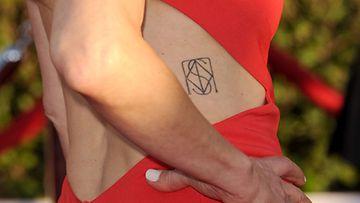 Kyra Sedgwickin uusi tatuointi