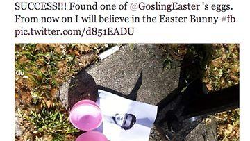 Ryan Gosling pääsiäismunissa