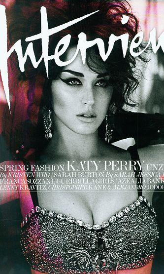 Katy Perry Interview-lehden kannessa