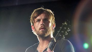 Caleb Followill King of Leon -yhtyeestä (Getty)