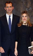 Prinssi Felipe ja prinsessa Letizia