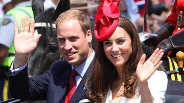 Prinssi William ja herttuatar Catherine.