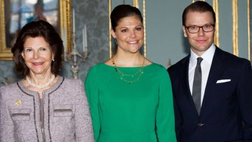 Kuningatar Silvia, prinsessa Victoria ja prinssi Daniel