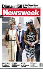 Prinsessa Diana Cambridgen herttuatar Catherinen kanssa. Tältäkö edesmennyt prinsessa olisi näyttänyt 50-vuotiaana? Yhdysvaltalaisen Newsweekin kuvakäsittely aiheesta.