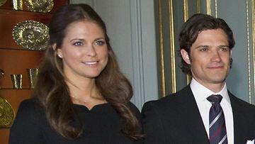 Prinsessa Madeleine ja prinssi Carl Phillip