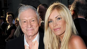 Hugh Hefner ja Crystal Harris
