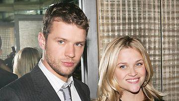 Ryan Phillippe ja ex-vaimo Reese Witherspoon.