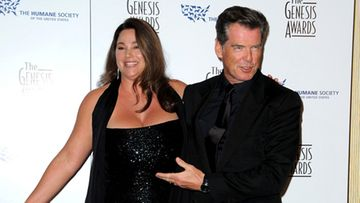 Keely Shaye-Smith ja Pierce Brosnan. Kuva: Wireimage/AOP