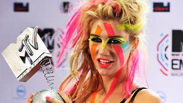Kesha EMA-tilaisuudessa 2010