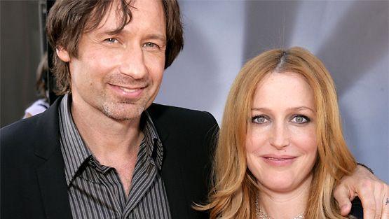 David Duchovny ja Gillian Anderson. Kuva: Wireimage/AOP