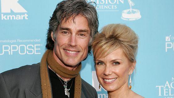 Ron Moss ja Katherine Kelly Lang.