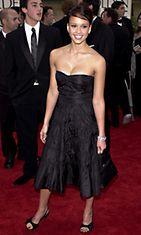 Jessica Alba Golden Globe Awardseissa 2001.