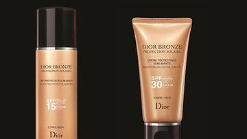 Maaliskuussa uudistuneet Diorin aurinkotuotteet suojaavat säteiltä.