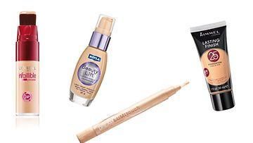 Pika-apua väsymyksen merkkien poistoon saa meikkivoiteella tai valokynällä.
