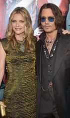 Michelle Pfeiffer ja Johnny Depp