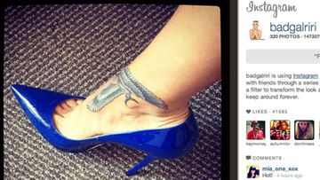 Rihannan tatuointi