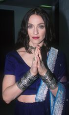 Vogue Fashion Awardseissa vuonna 1998.l