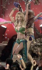 Britney Spears 2001 MTV Music Awardseissa.