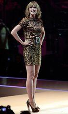 Heidi Klum vuonna 2010 Saksan Huippumalli -haussa finaalissa.