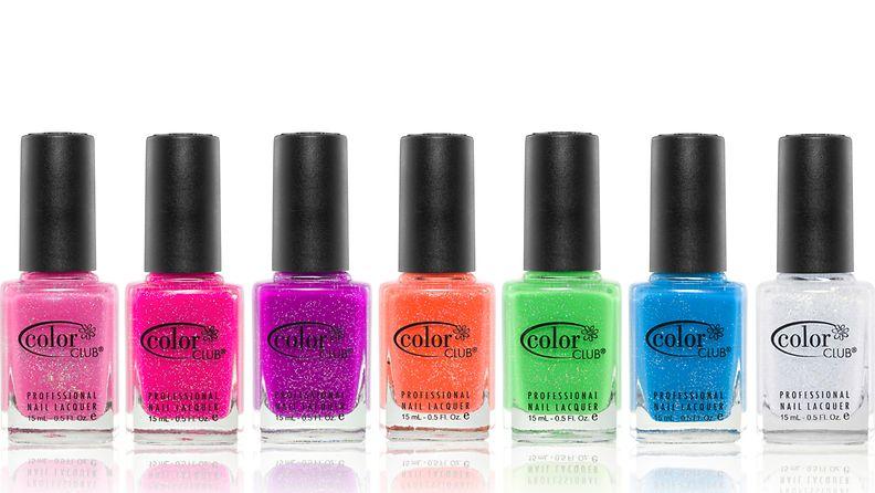 Color Clubin uutuussävyt hehkuvat kesän väreissä!