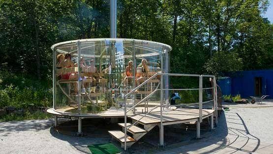 Solaris-saunaan voi tutustua kulttuuripääkaupunki Turussa.