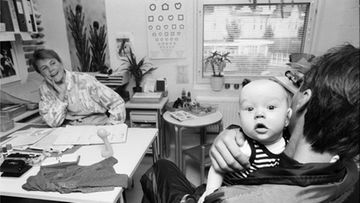 Äitiysneuvola vuonna 1992.