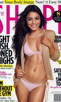 Vanessa esittelee upeaa kroppaansa uusimman Shape-lehden kannessa.
