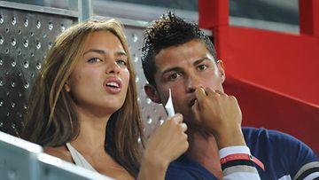 Shayk ja Ronaldo ovat seurustelleet vajaan vuoden verran.