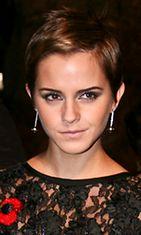 Emma Watson näyttää, että lyhyt tukka käy tytöllekin.