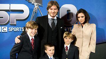 David ja Victoria ovat huippukasvattajia Heidi Klumin mukaan.