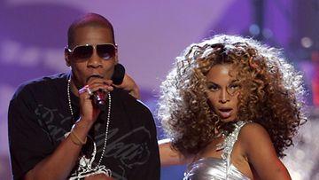 Beyoncé Knowles ja aviomies Jay-Z.