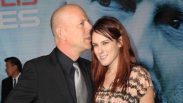 Bruce Willis ja tyttärensä Rumer.